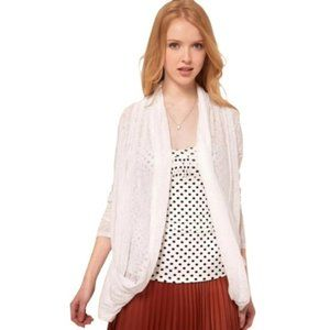 Free People Burnout Cardigan Size L